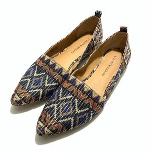 Lucky Brand Beechmer Pointed Flat Size 9